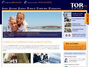 TorFX website