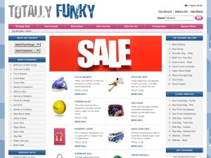 Totally Funky website