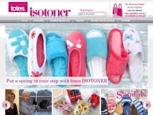 totes ISOTONER website