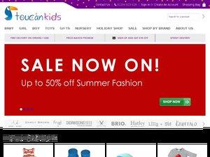 Toucan Kids website