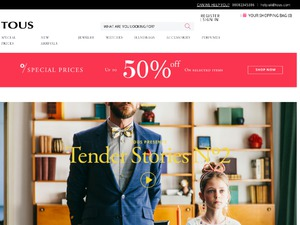 TOUS Europe website