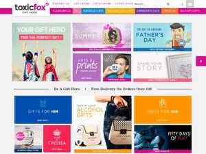 Toxic Fox website