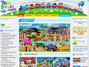 Toys Direct website