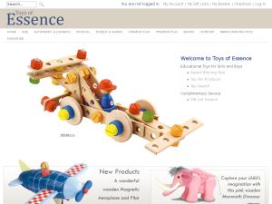 Toys of Essence website