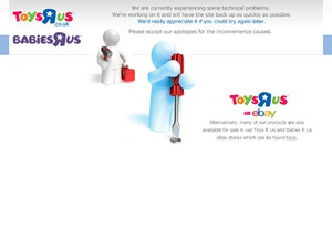 Toys R Us & Babies R Us website