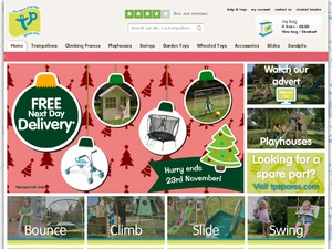 TP Toys website