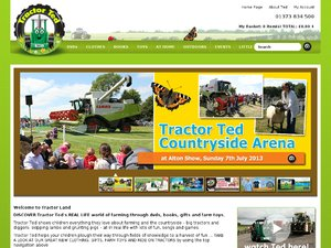 TractorTed website