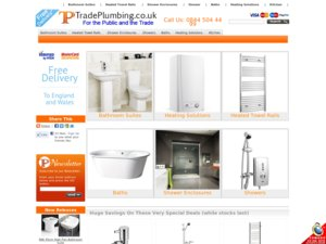 TradePlumbing website