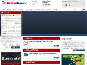 Transmanche Ferries website