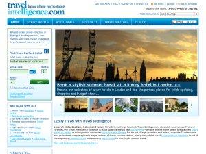 Travel Intelligence website