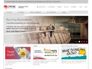Trend Micro website