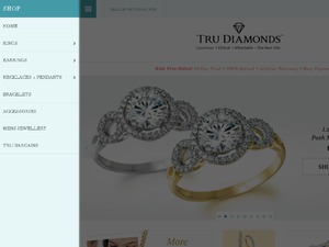 Tru Diamonds website
