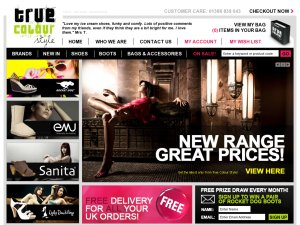 True Colour Style website
