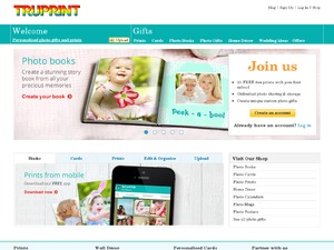 Truprint website