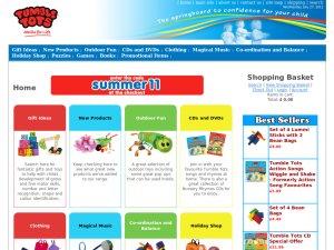 Tumble Tots website