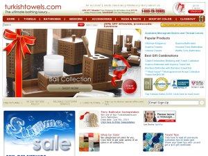Turkishtowels website