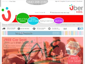 Uber Kids Discount Voucher Codes 2019 for www uberkids co uk