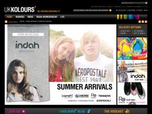 UK Kolours website