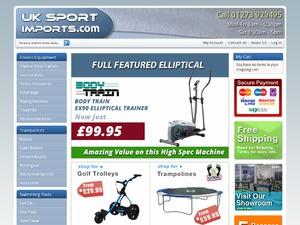UK Sport Imports Ltd website