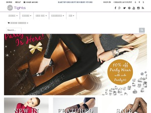 UK Tights website