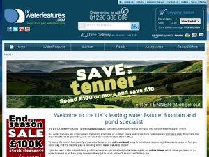 UK Water Features website