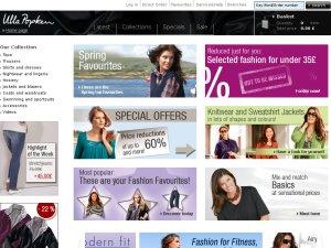 Ulla Popken UK website