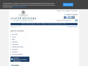 Ulster Weavers Home Fashions website