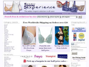 Undercover Experience website