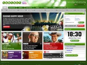 Unibet UK website