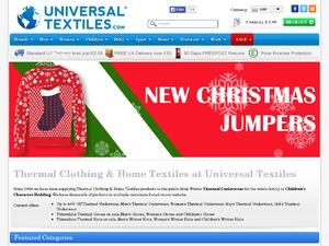 Universal Textiles website