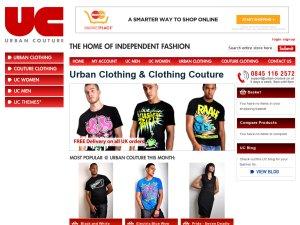 Urban-Couture website