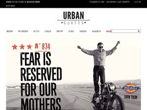 Urban Surfer website