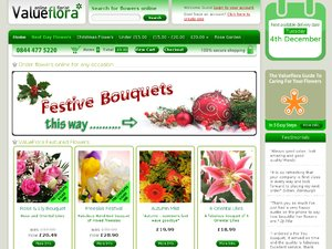 Value Flora website