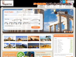 Vayama Travel website