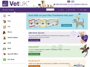 Vet UK website