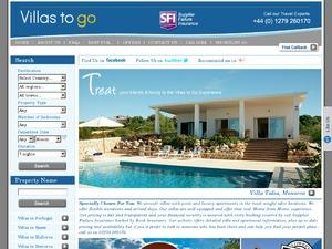 Villastogo website