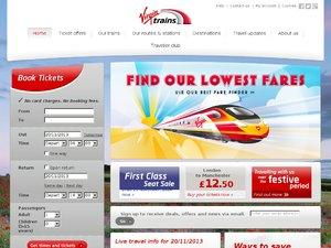 Virgin trains website
