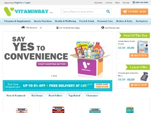 Vitamin Bay website