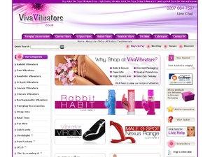 Viva Vibrators website