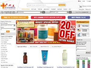 Vivomed Limited website