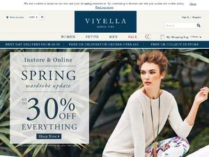 Viyella website