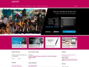 WACOM website