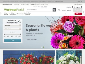 Waitrose Direct Services website