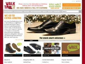 Walktall website