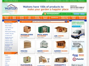Waltons IE website