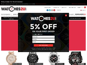 Watches2U website