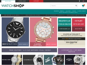 Watch Shop website