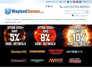 WAYLAND GAMES PROMO CODE