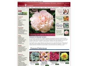Wayside Gardens website