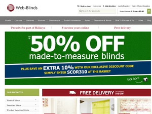 Web-Blinds website